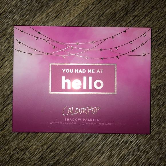 Colourpop Other - You Had Me At Hello Palette